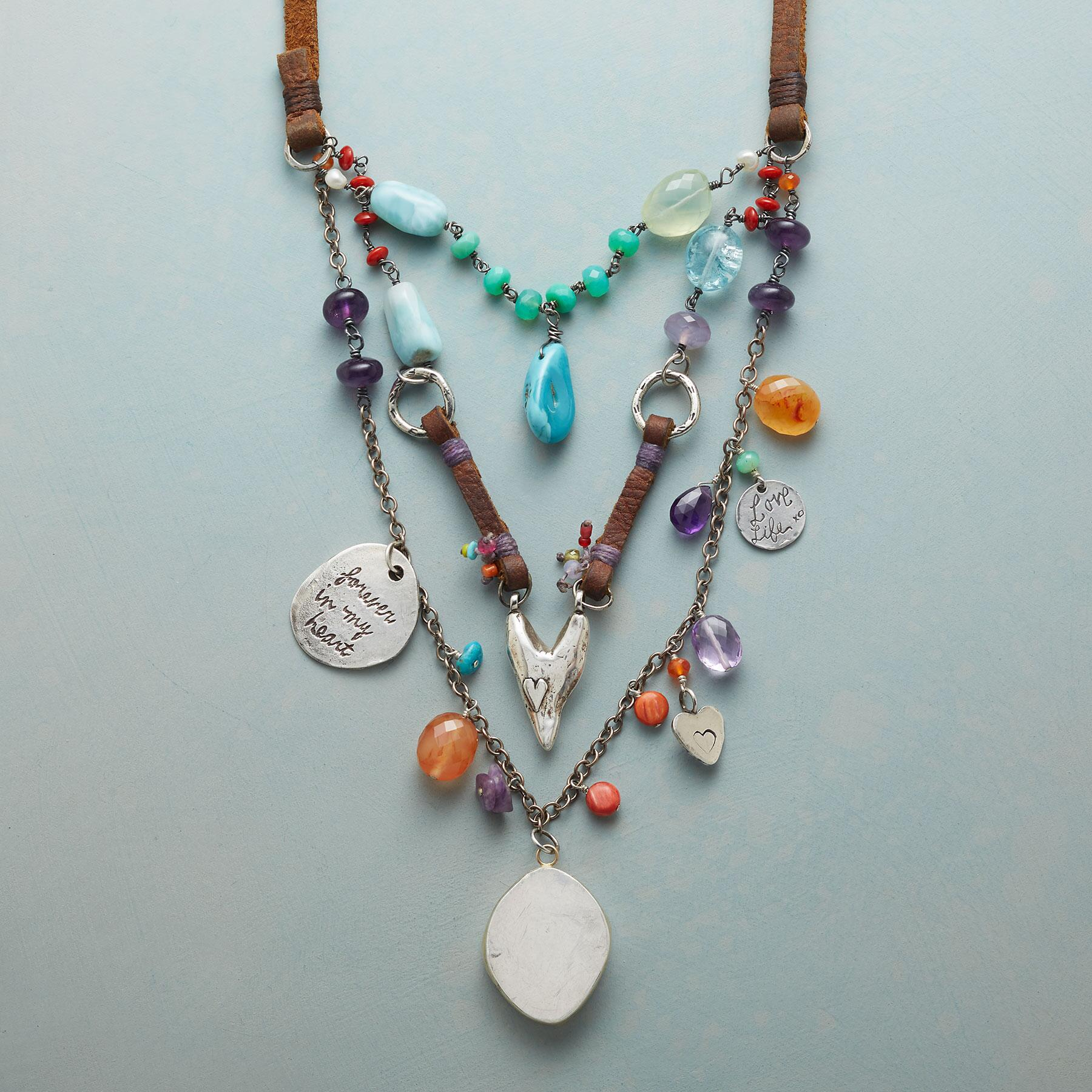 WISDOM OF LOVE NECKLACE: View 2