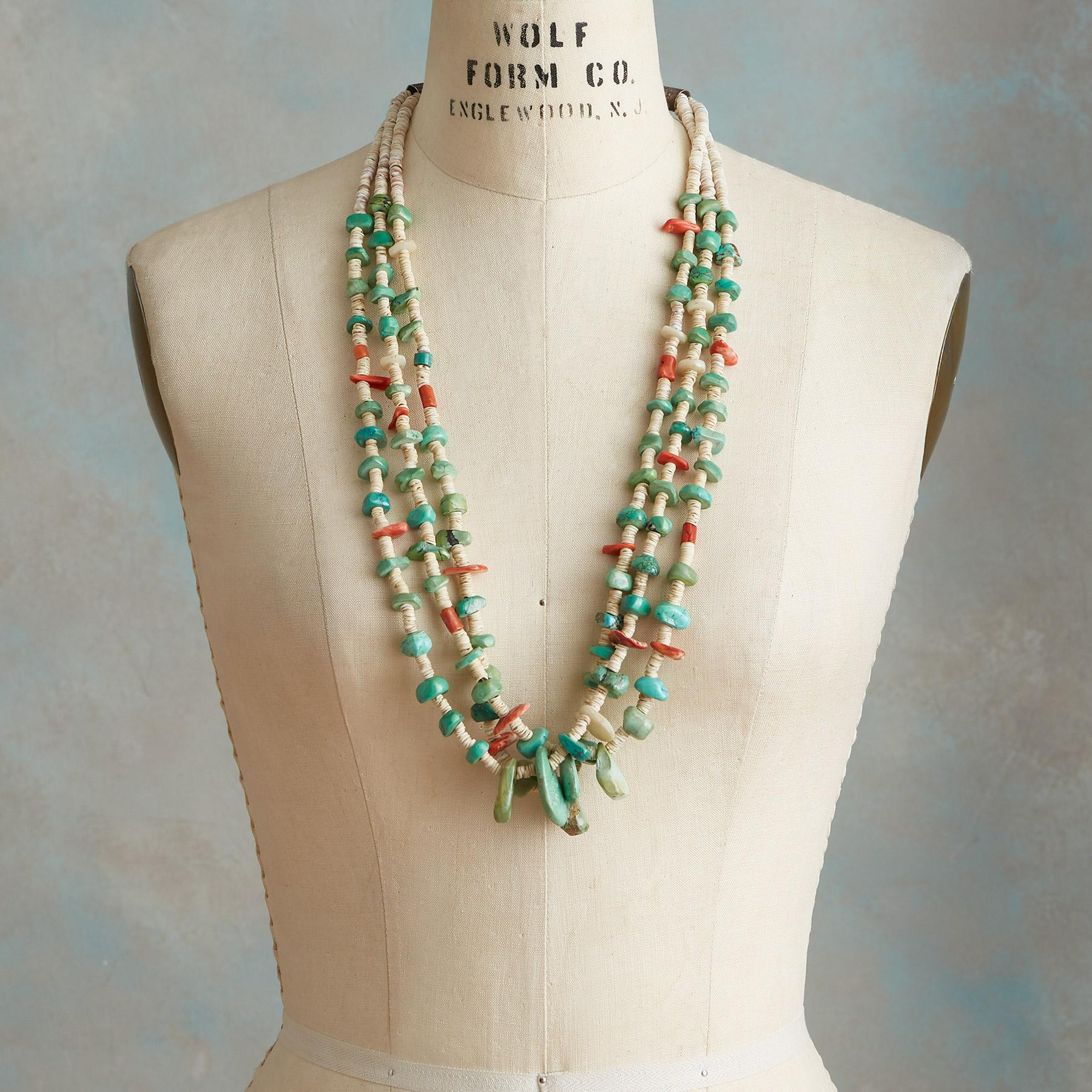 1920S SANTO DOMINGO TAB NECKLACE: View 3