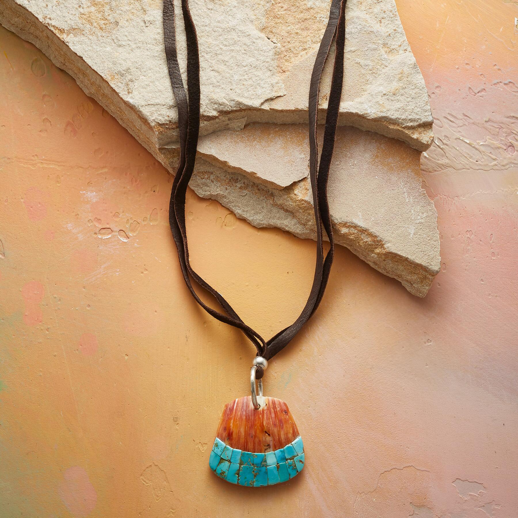 SHORELINE TURQUOISE NECKLACE: View 1