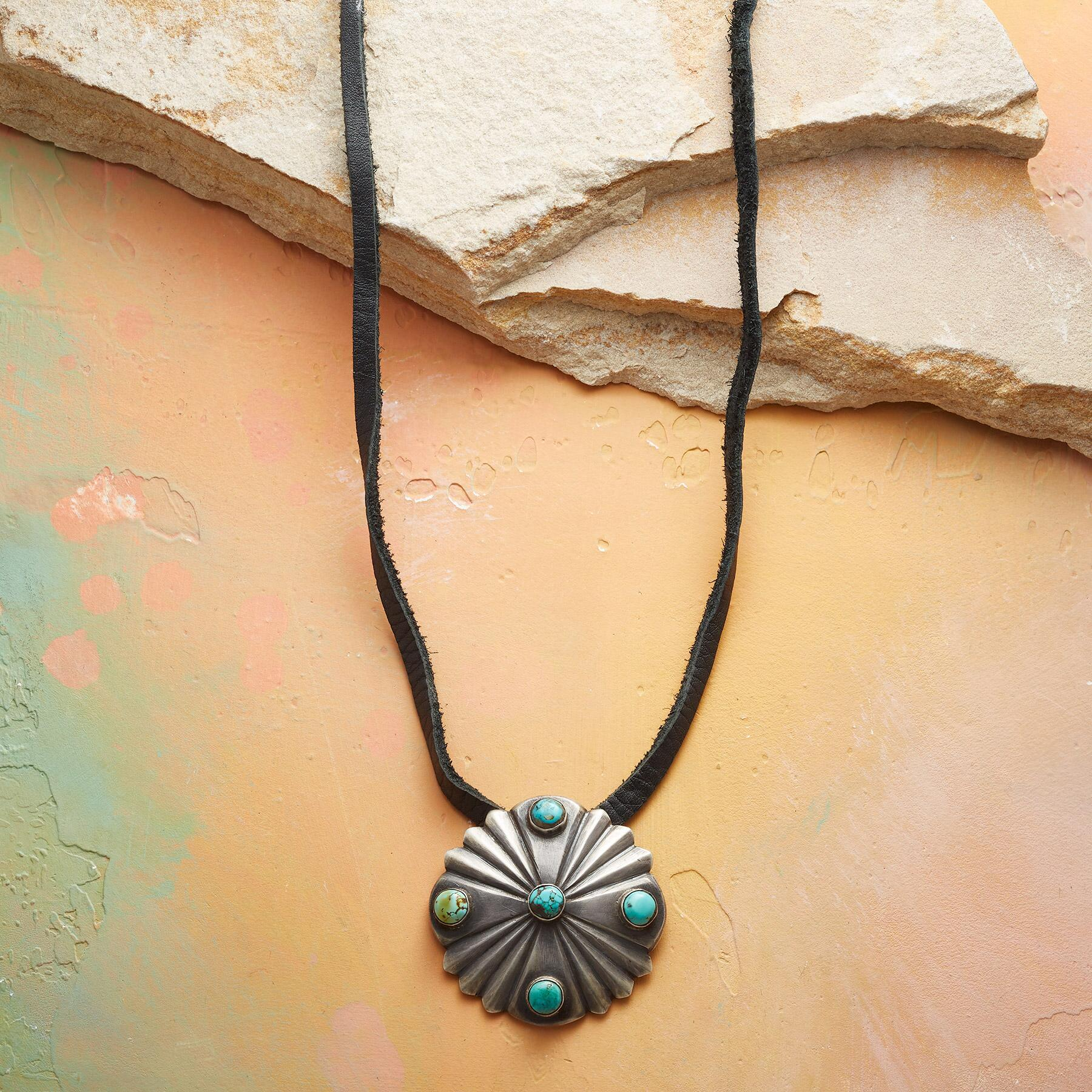 SOUTHWESTERN SUN NECKLACE: View 1