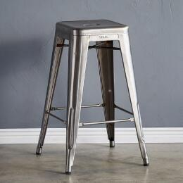 TOLIX BAR STOOL, SMALL