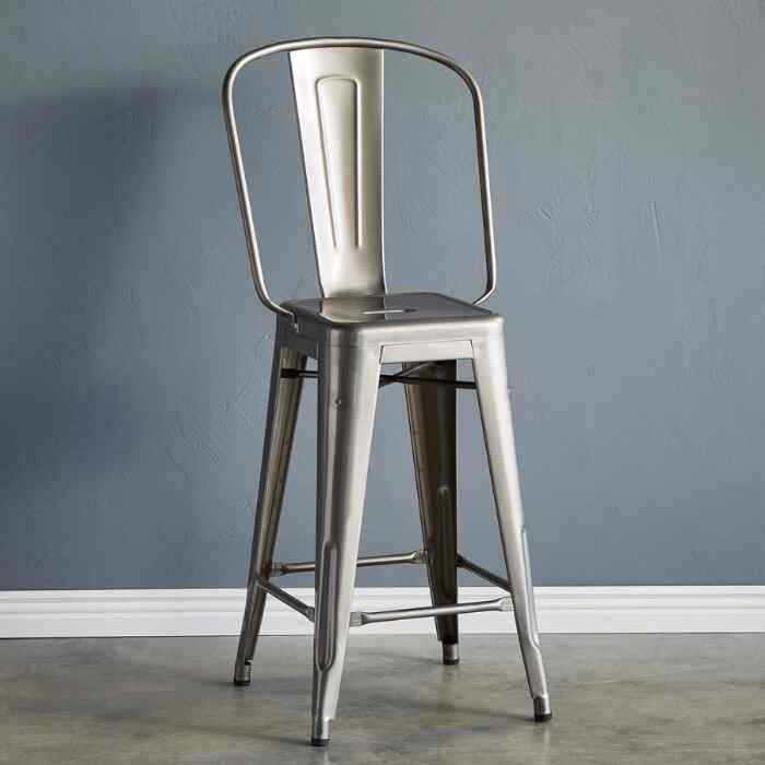 TOLIX COUNTER STOOL, LARGE