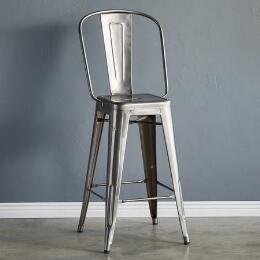 TOLIX BAR STOOL, LARGE