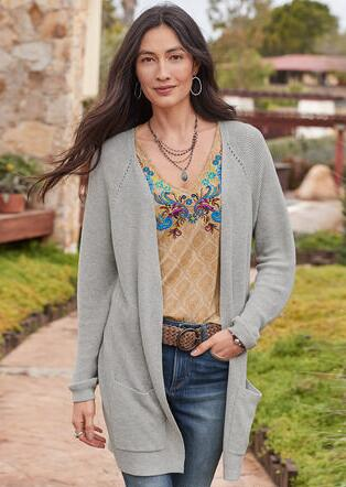EVERYDAY CARDIGAN - PETITES