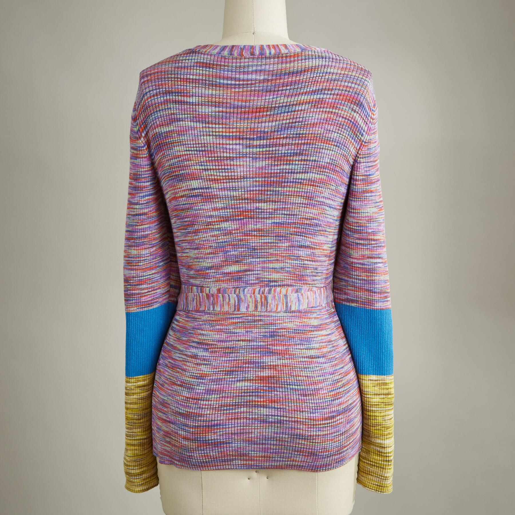 JOY WRAP SWEATER: View 2