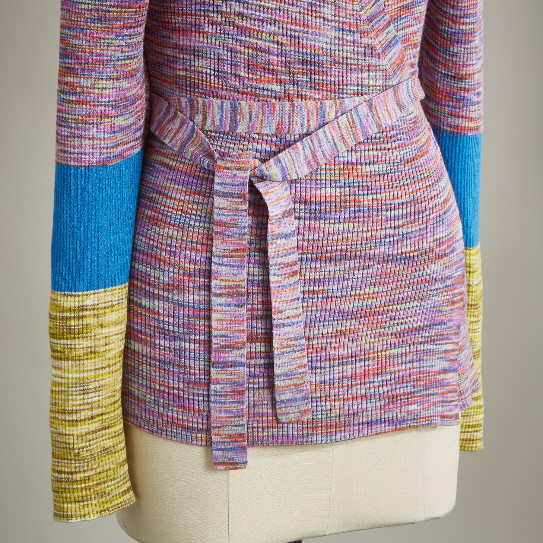JOY WRAP SWEATER: View 3