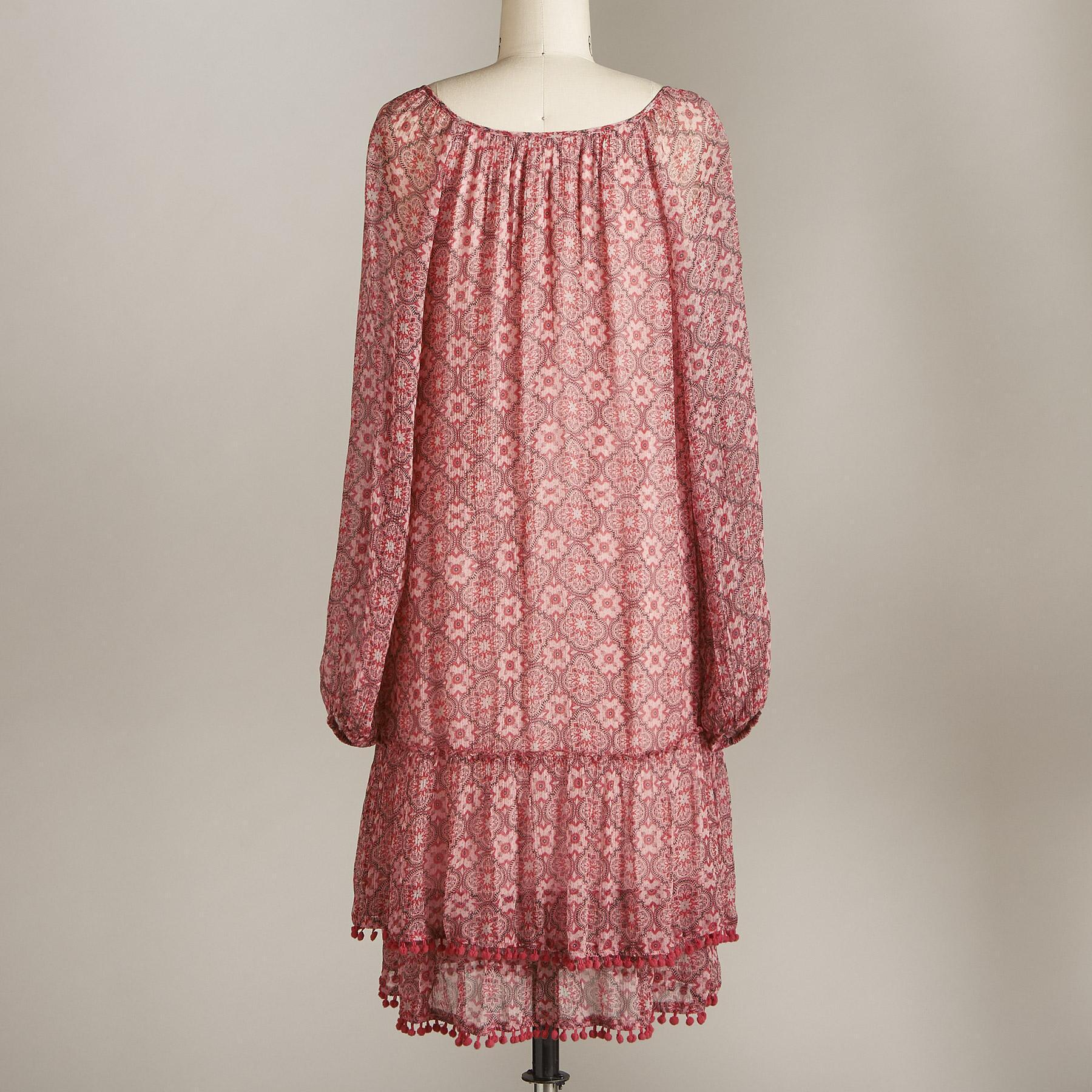 MOSAIC BREEZE DRESS PETITE: View 3