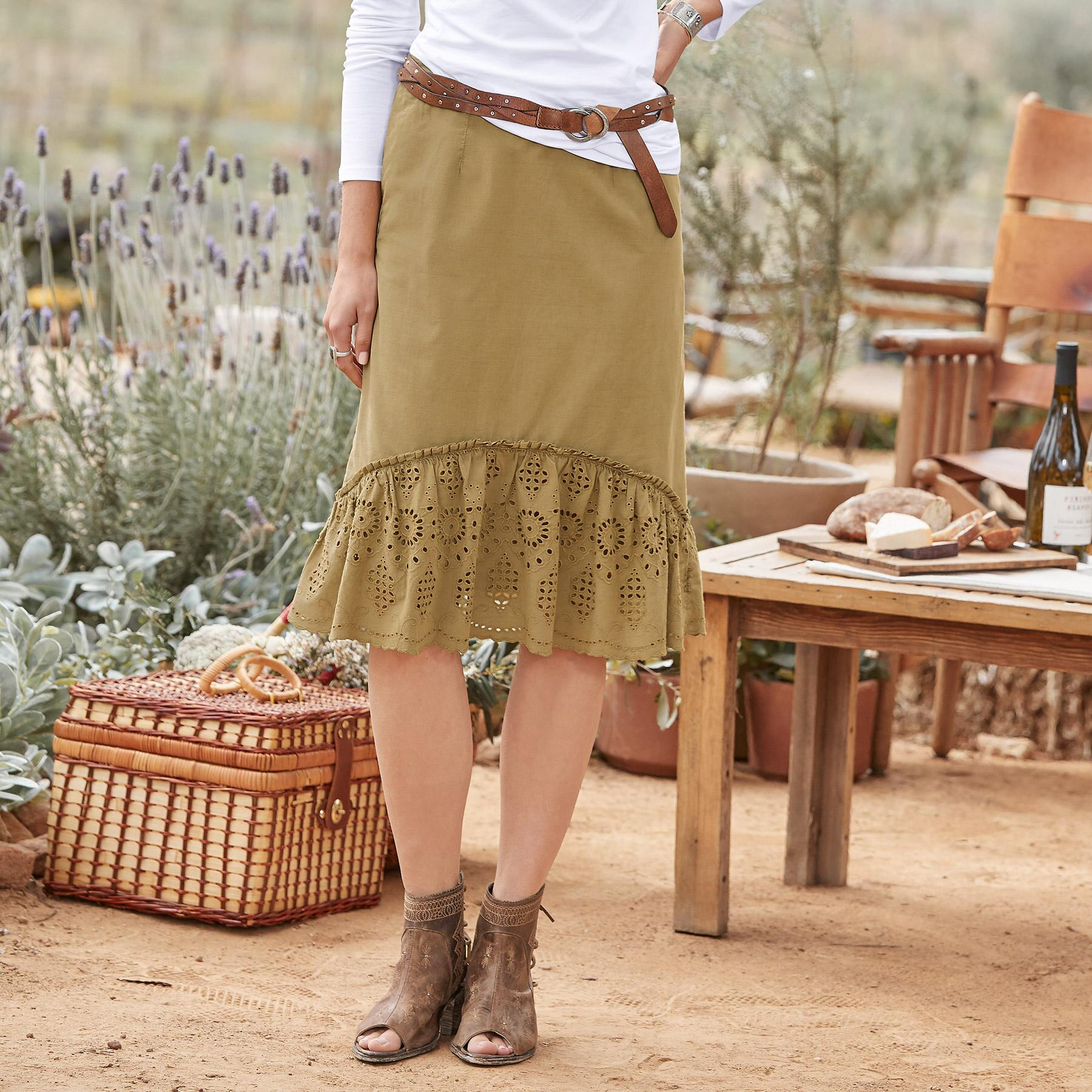 ADELINE TRAVEL SKIRT: View 1