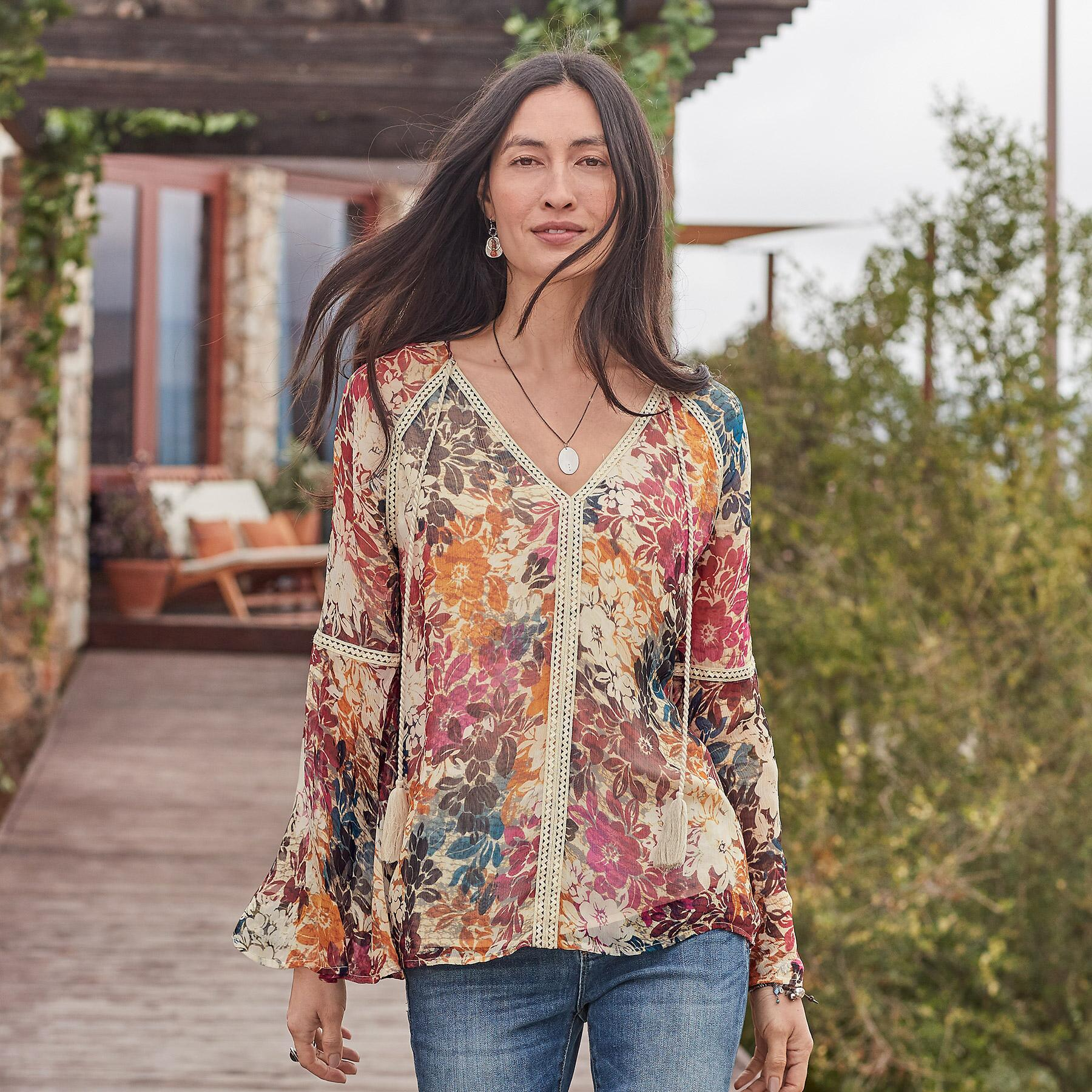 GRACIE IN BLOOM TOP: View 1
