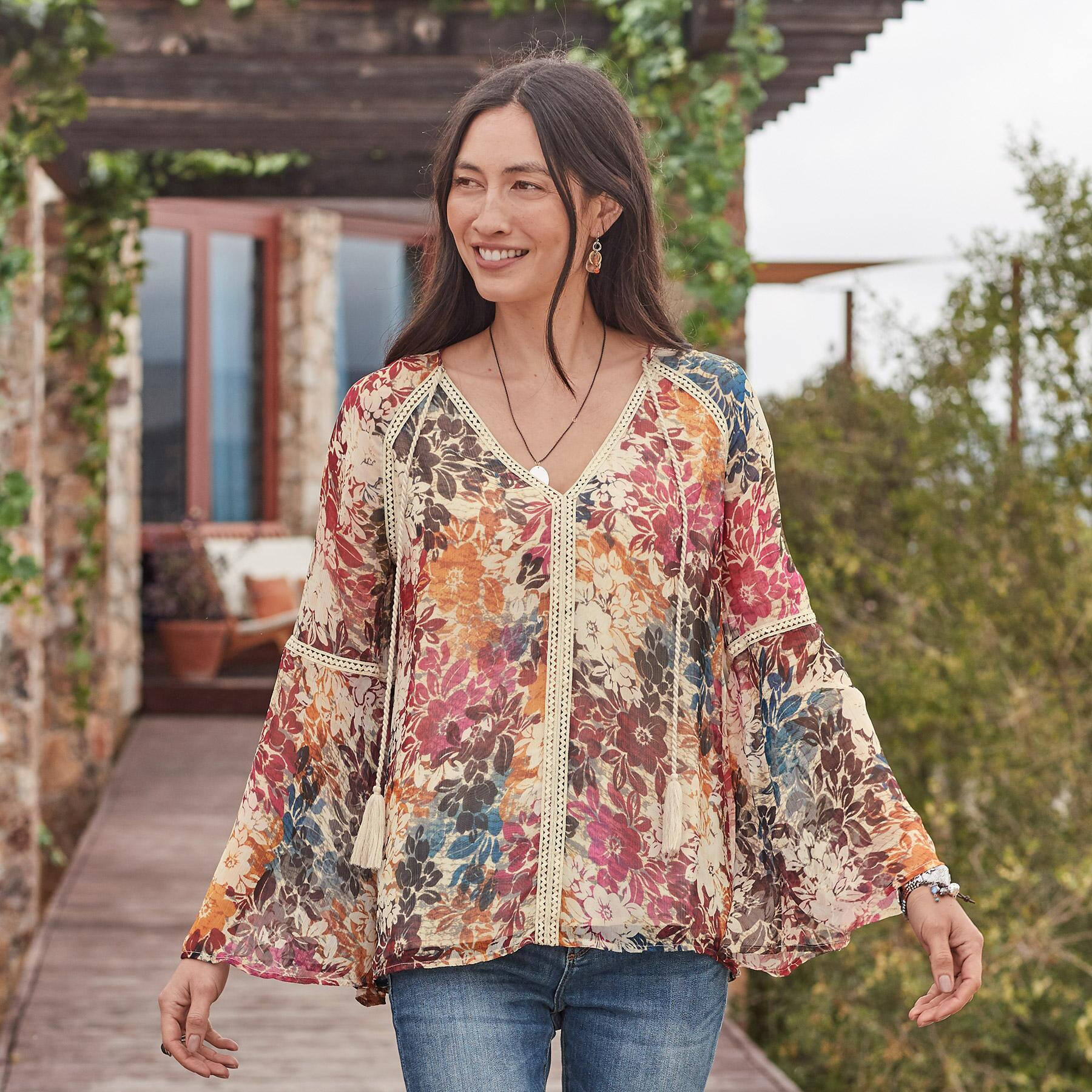 GRACIE IN BLOOM TOP: View 2