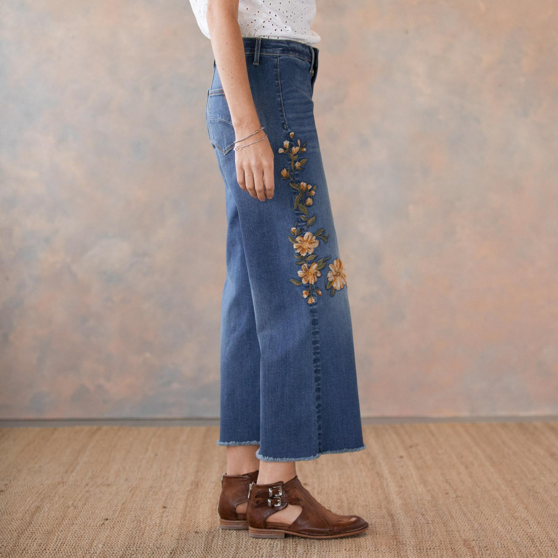 CHARLEE RISING SUN JEANS: View 4