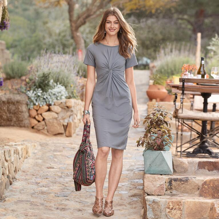 JOURNEYS JOY DRESS PETITE
