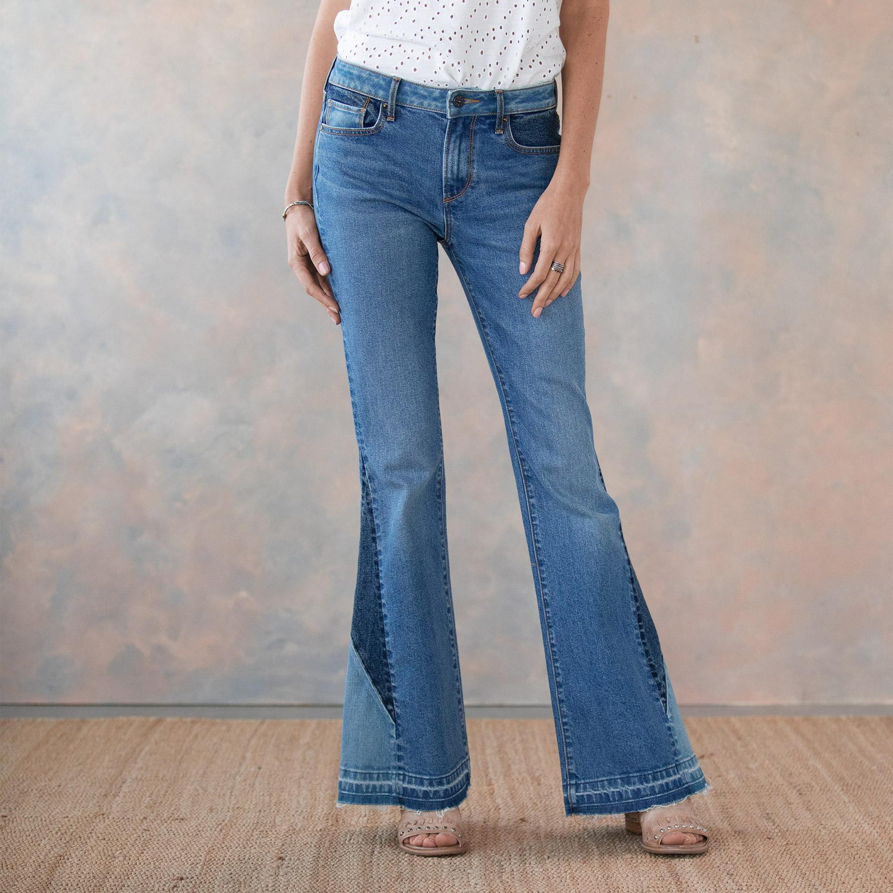 CLEO BESTIES FLARE JEANS: View 2