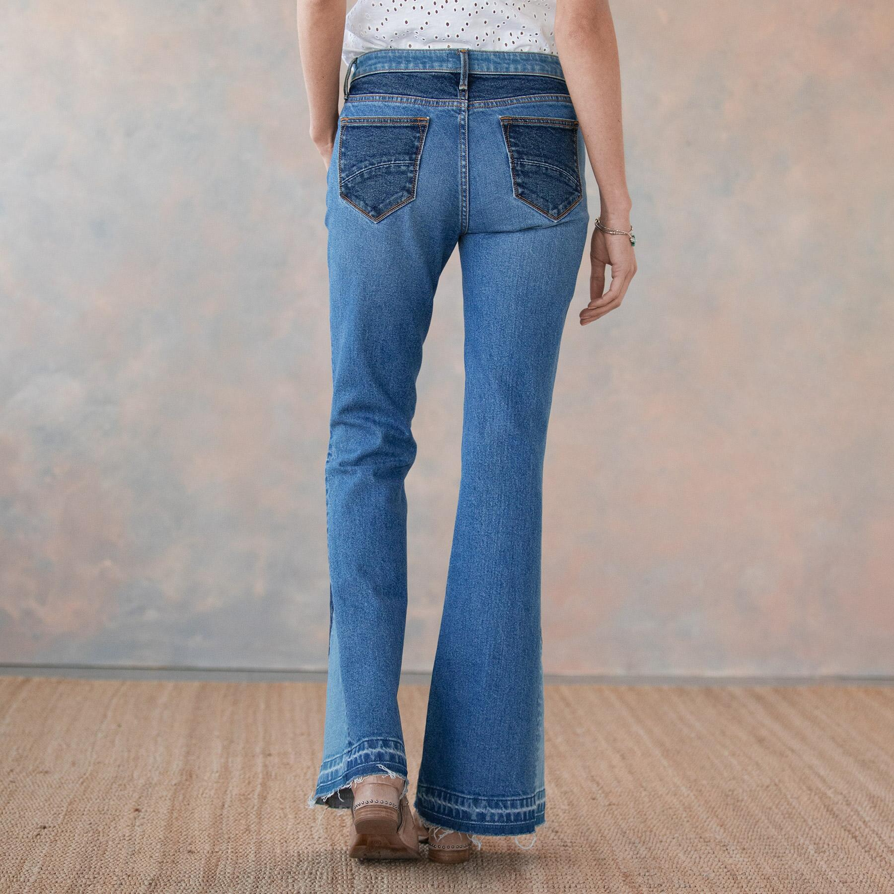 CLEO BESTIES FLARE JEANS: View 3