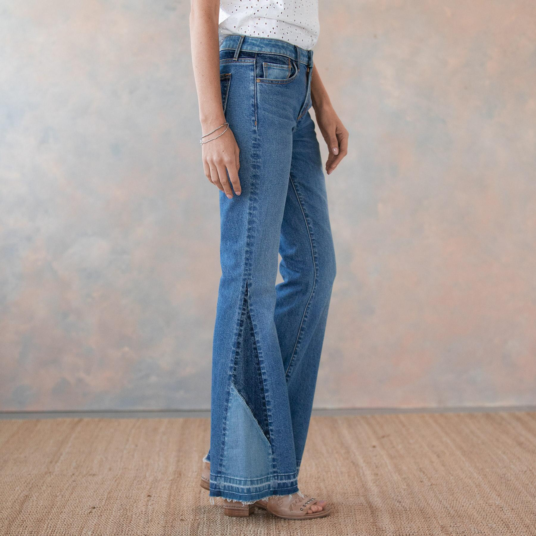 CLEO BESTIES FLARE JEANS: View 4