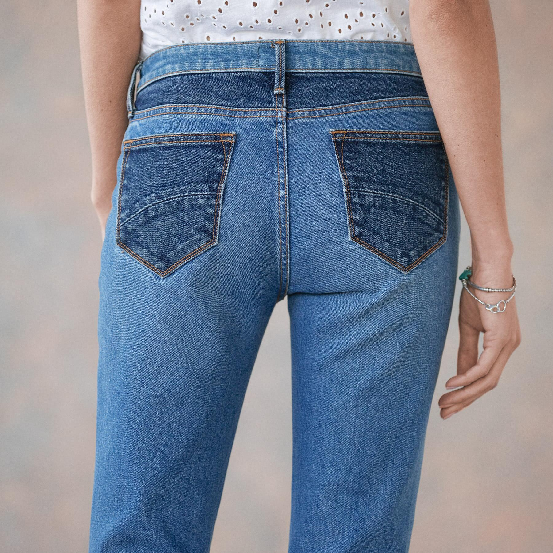 CLEO BESTIES FLARE JEANS: View 7