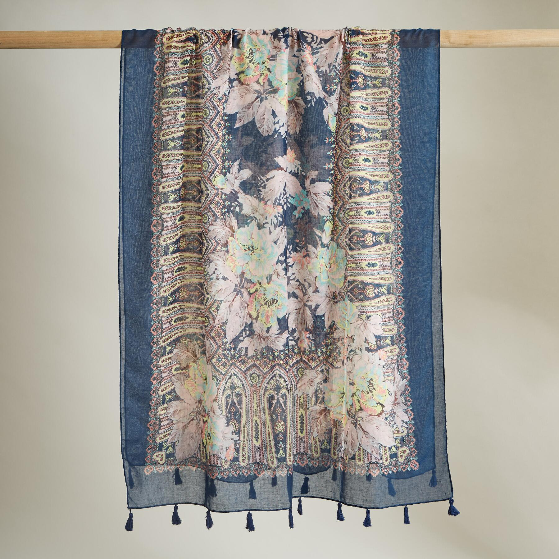 FLORAL IMPRESSIONS SCARF: View 2