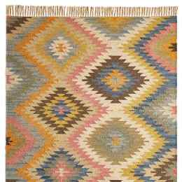 SUNLIT DIAMONDS KILIM RUG, LARGE