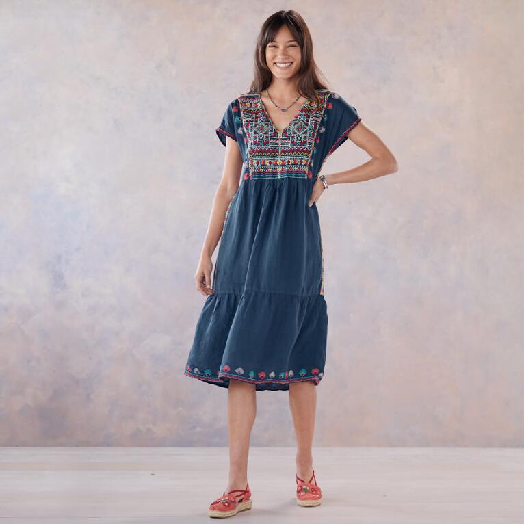 ANCESTRAL SKIES DRESS