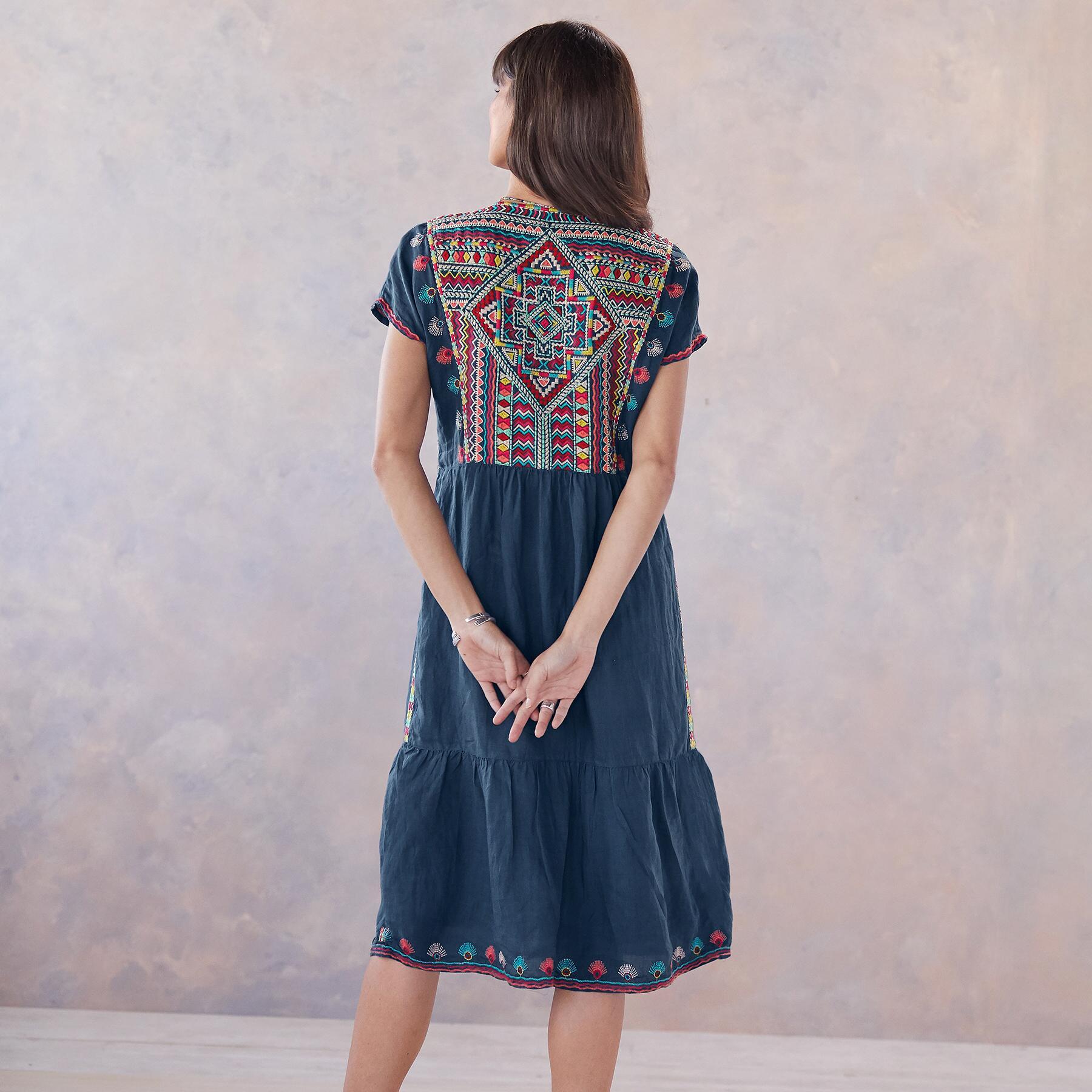 ANCESTRAL SKIES DRESS: View 2