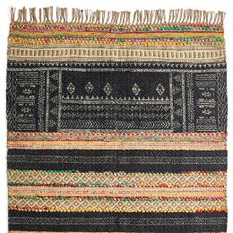 ZOLA DHURRIE RUG, LARGE