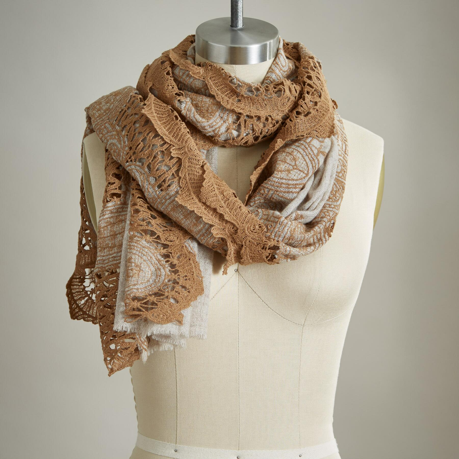 VINTAGE BLOOMS SCARF: View 1