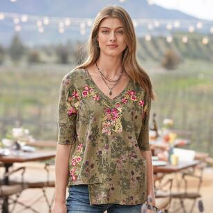 FLOWERING FOREST TOP