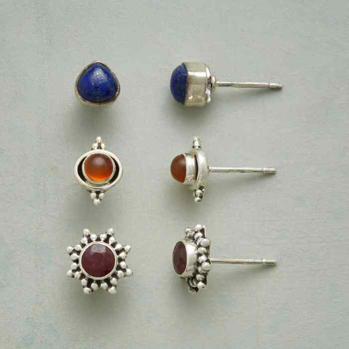 EARTH, FIRE AND WATER EARRING TRIO
