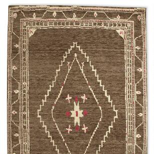 LURIA TIBETAN HAND KNOTTED RUG, LARGE