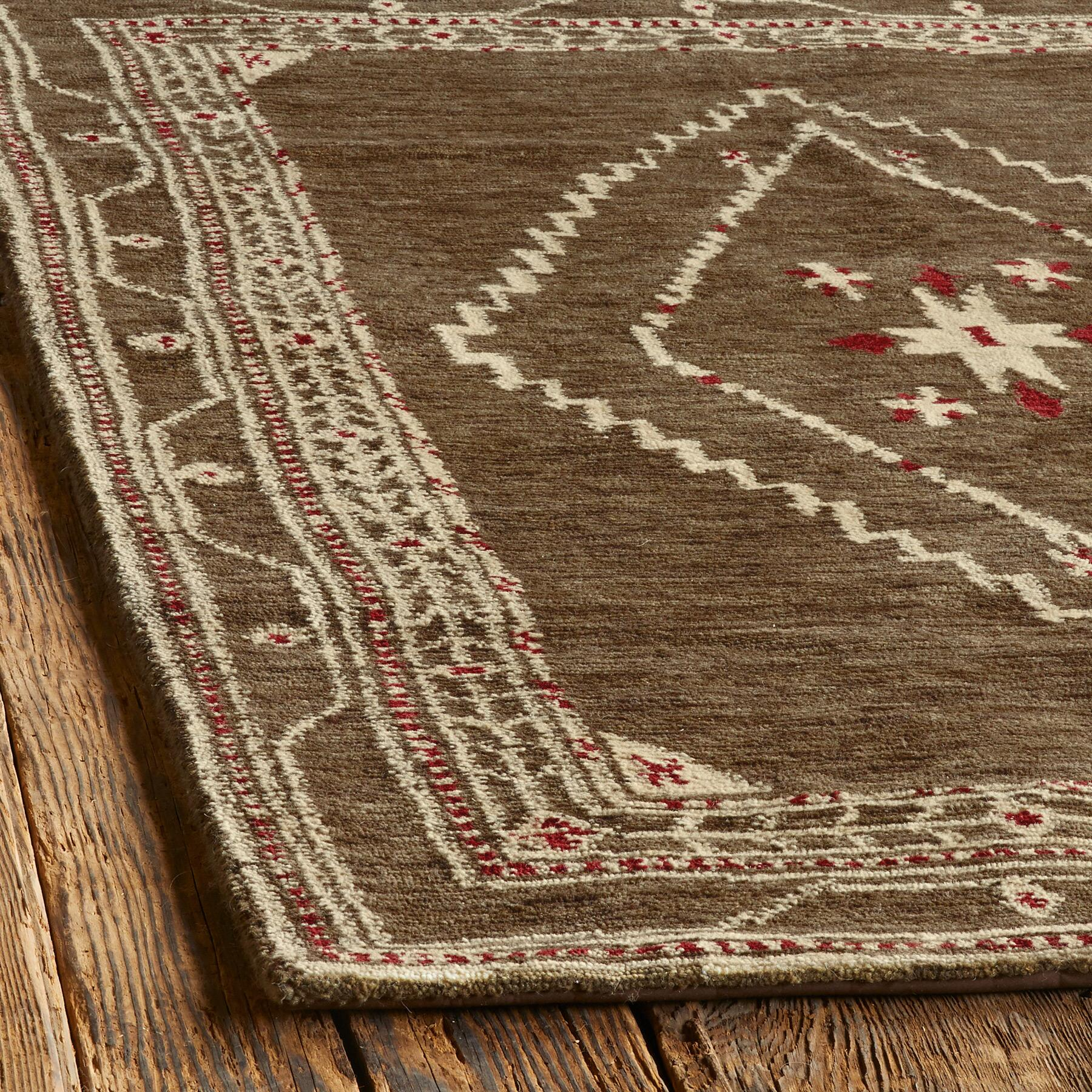 LURIA TIBETAN HAND KNOTTED RUG, LARGE: View 2