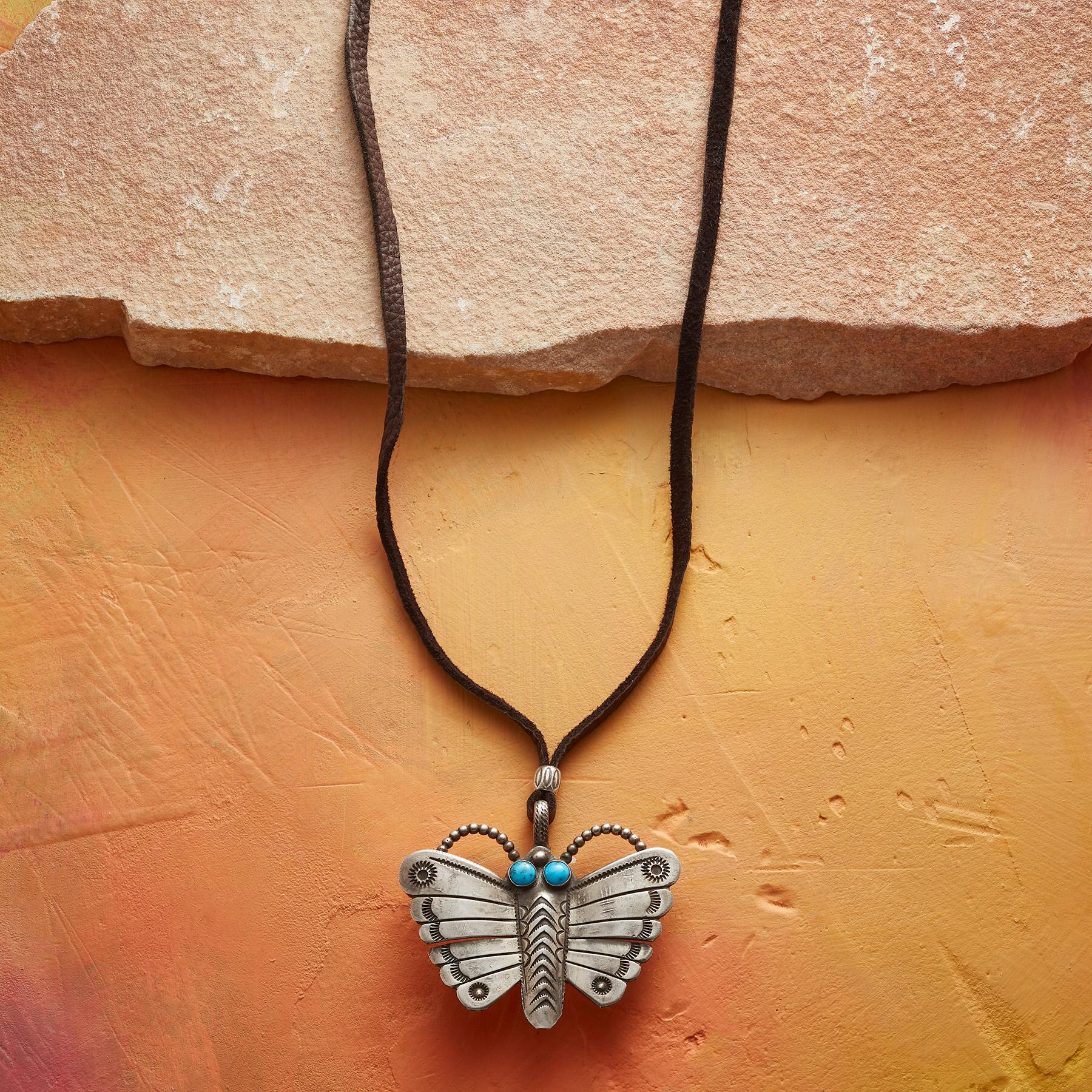 BUTTERFLY NECKLACE: View 1
