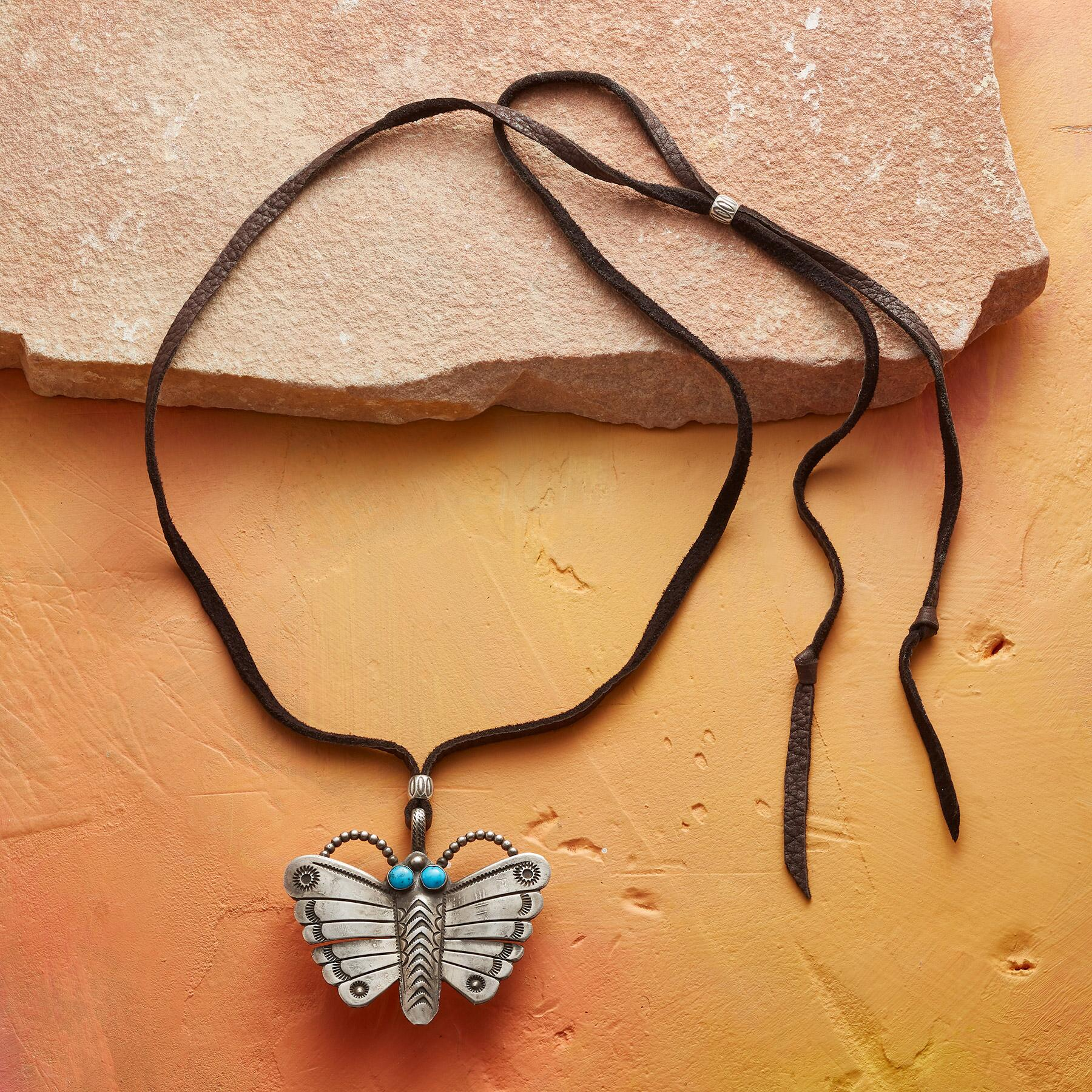 BUTTERFLY NECKLACE: View 2