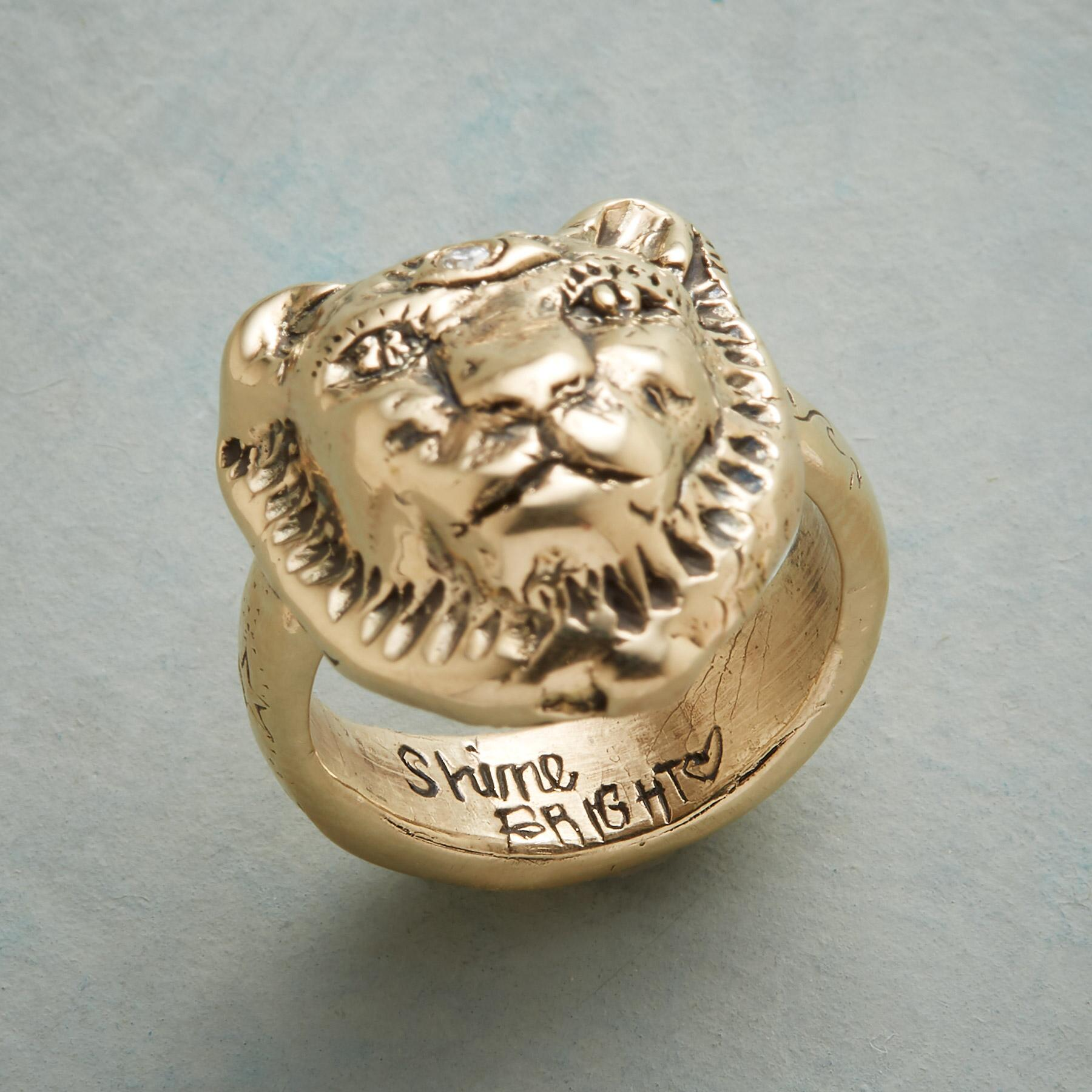 BRAVE LIONESS RING: View 2