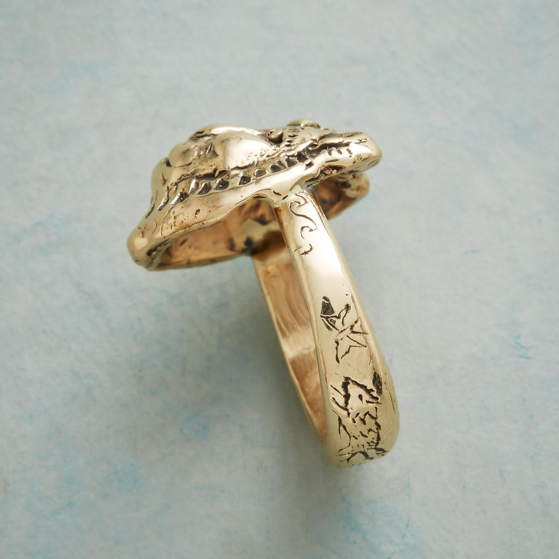 BRAVE LIONESS RING: View 3