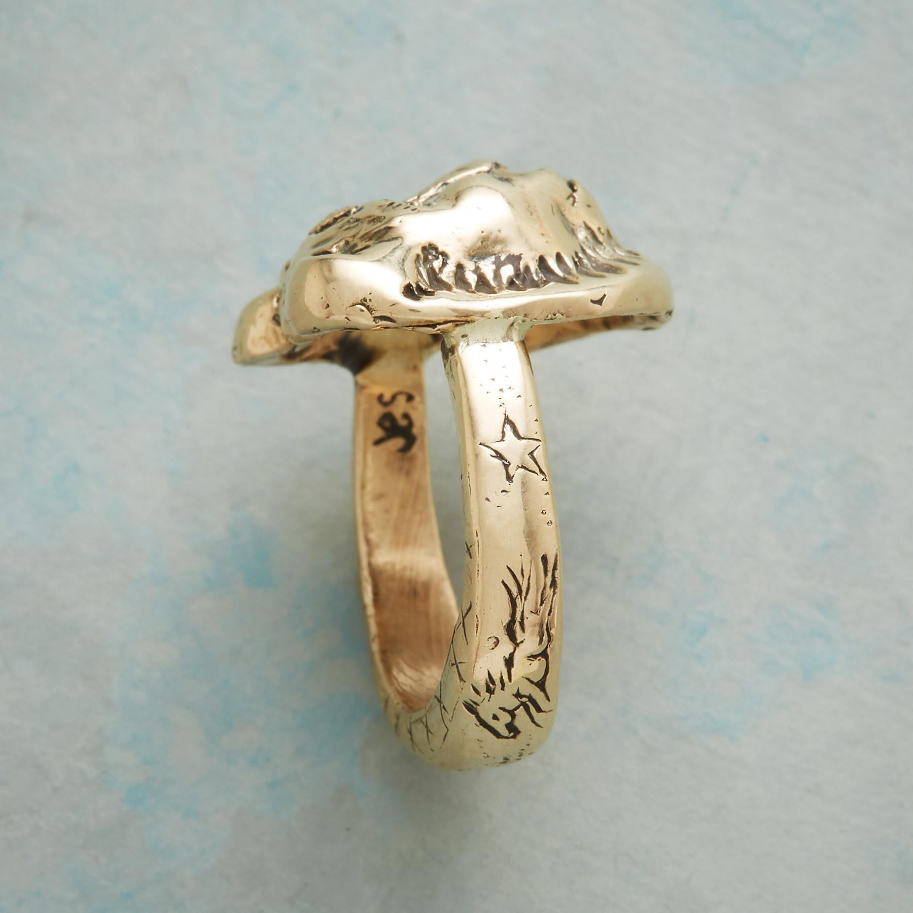 BRAVE LIONESS RING: View 4