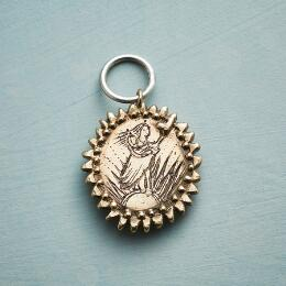 GOLD MOTHER GODDESS CHARM
