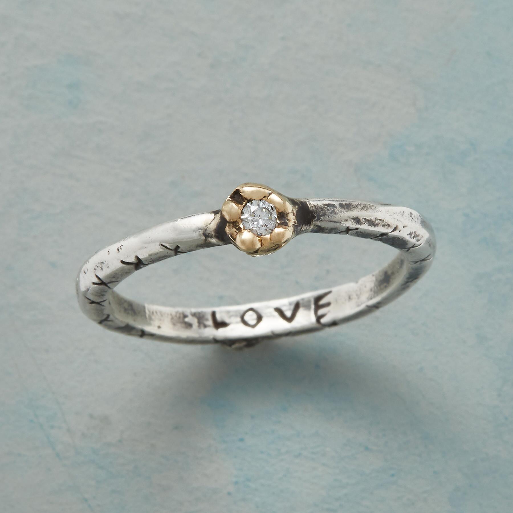 LOVING DIAMOND RING: View 1