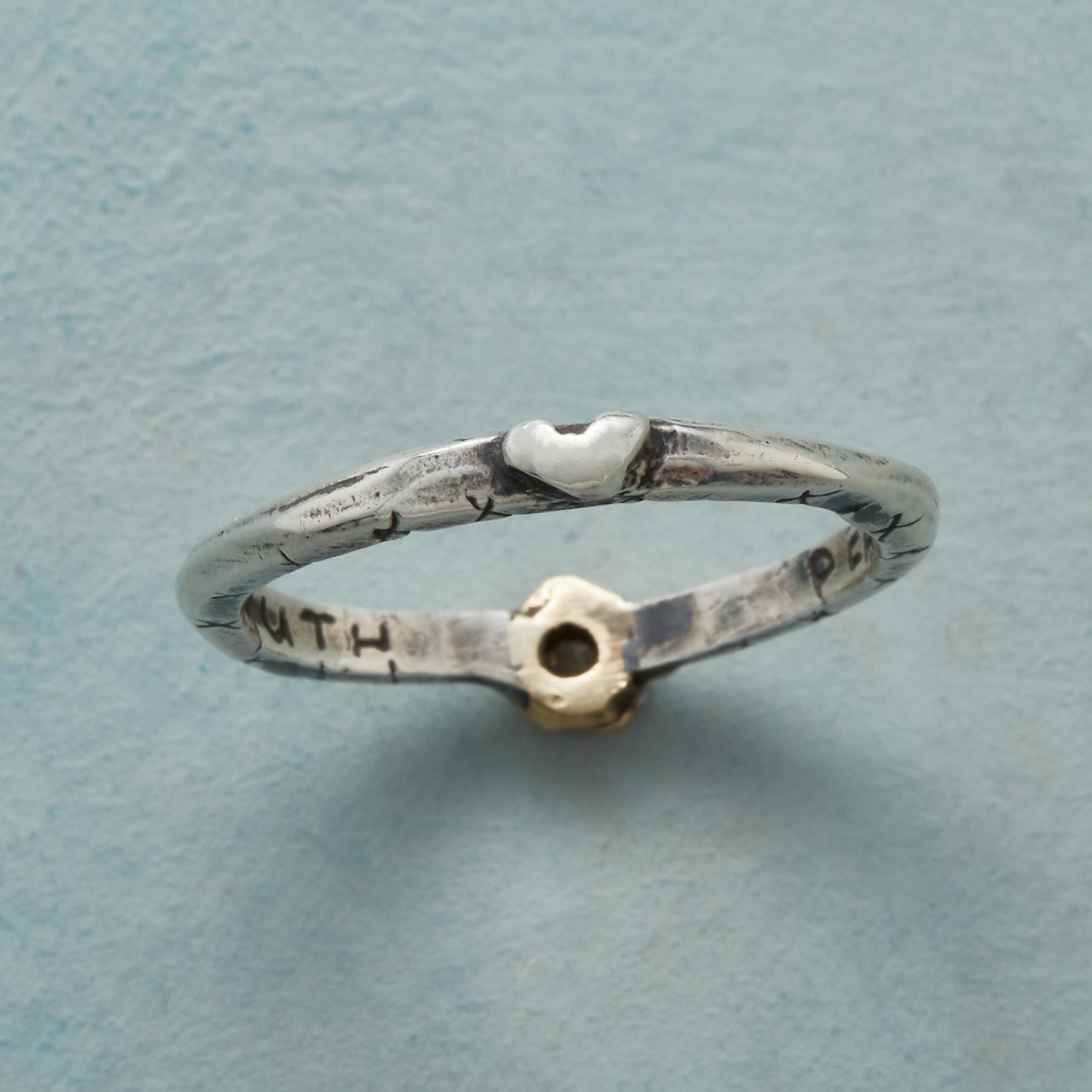 LOVING DIAMOND RING: View 4