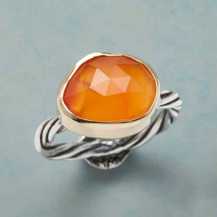 SUN WORSHIPER RING