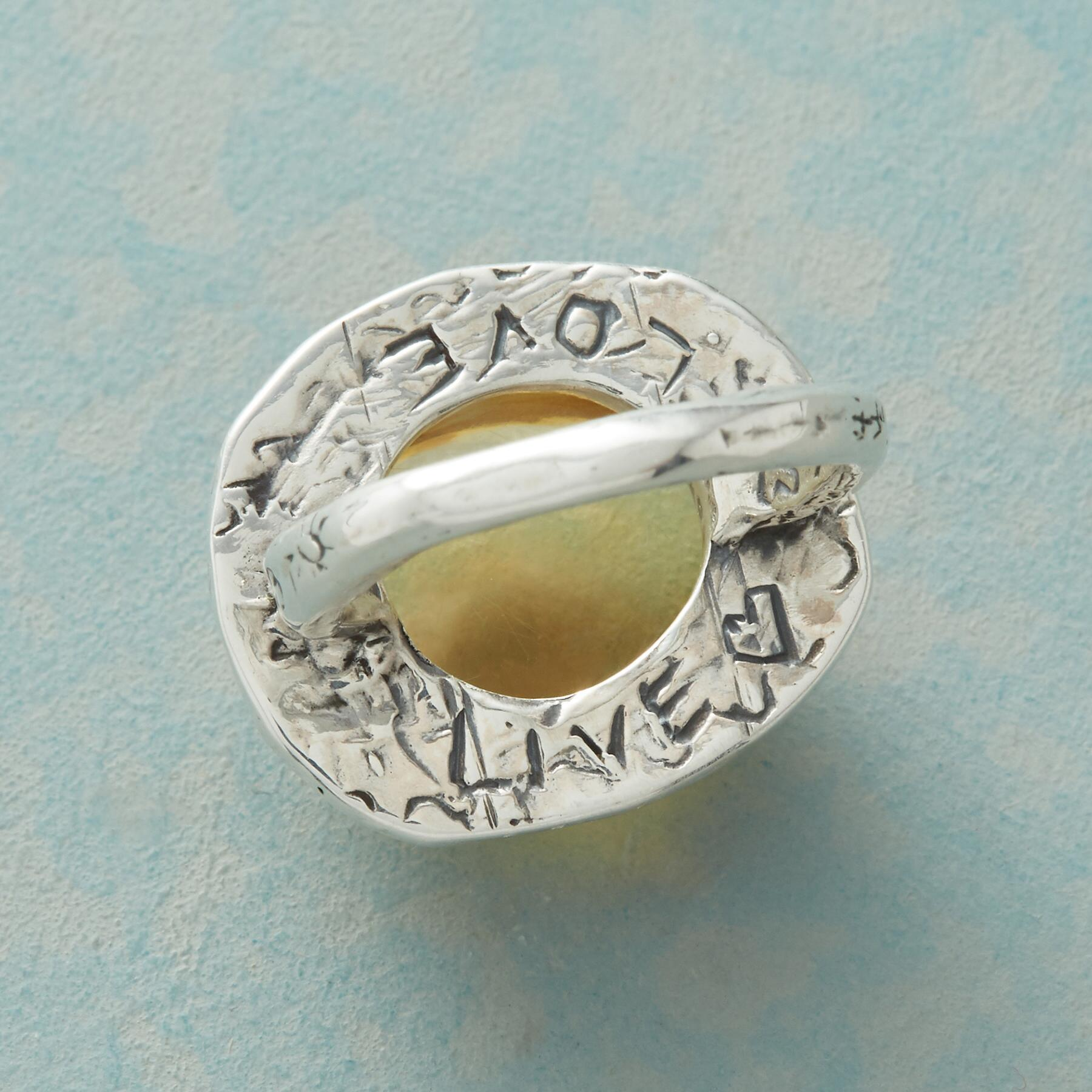 SOL OF LIFE RING: View 3