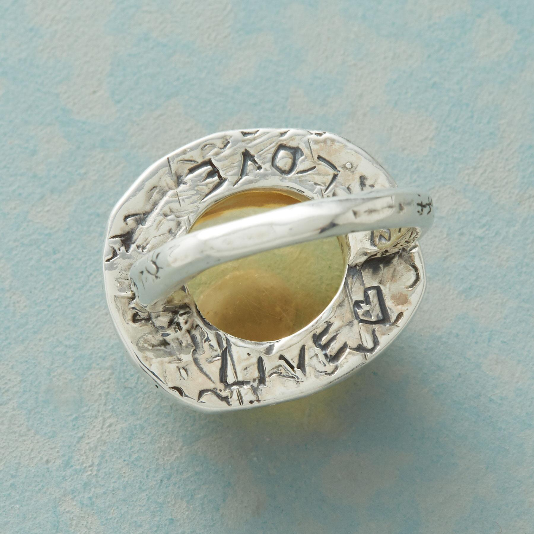 SOL OF LIFE RING: View 4