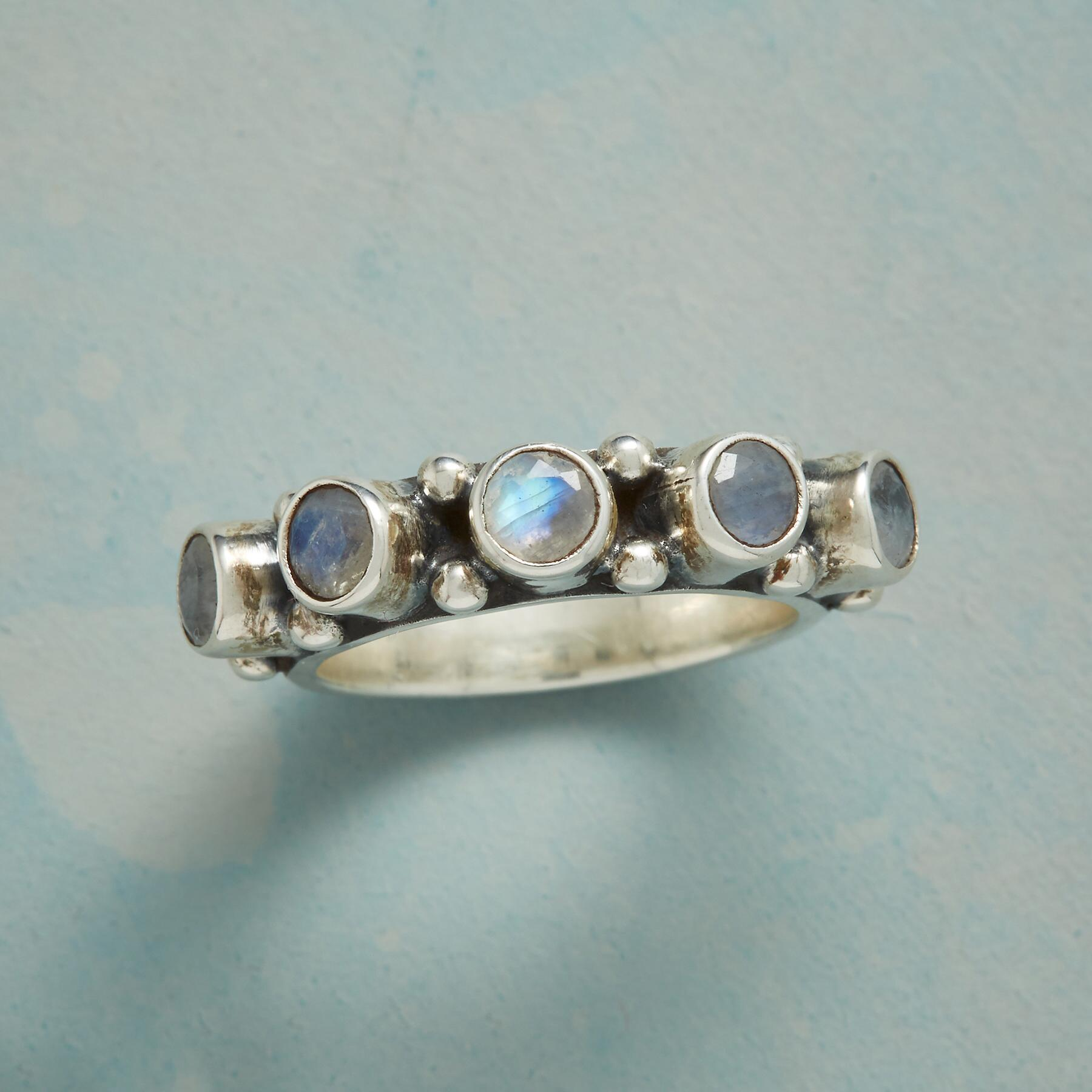 MOONSTONE HORIZON RING: View 1