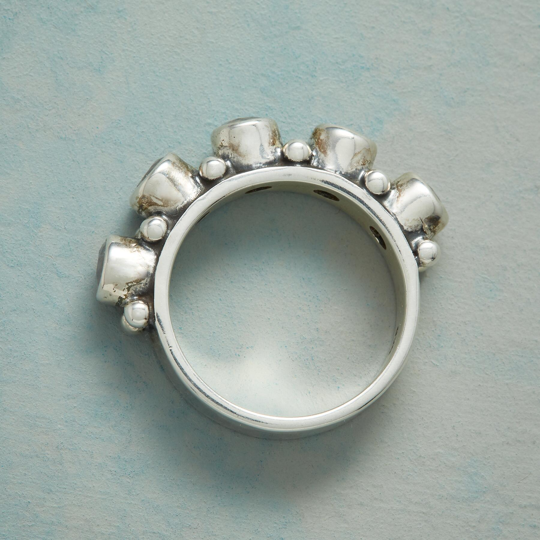 MOONSTONE HORIZON RING: View 2