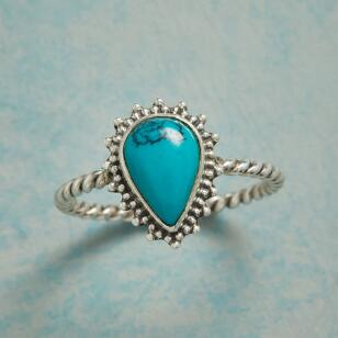 DROP OF TURQUOISE RING