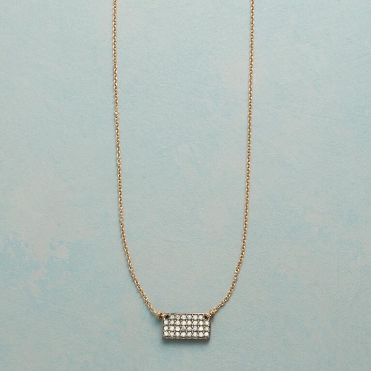 DIAMOND POCKETBOOK NECKLACE