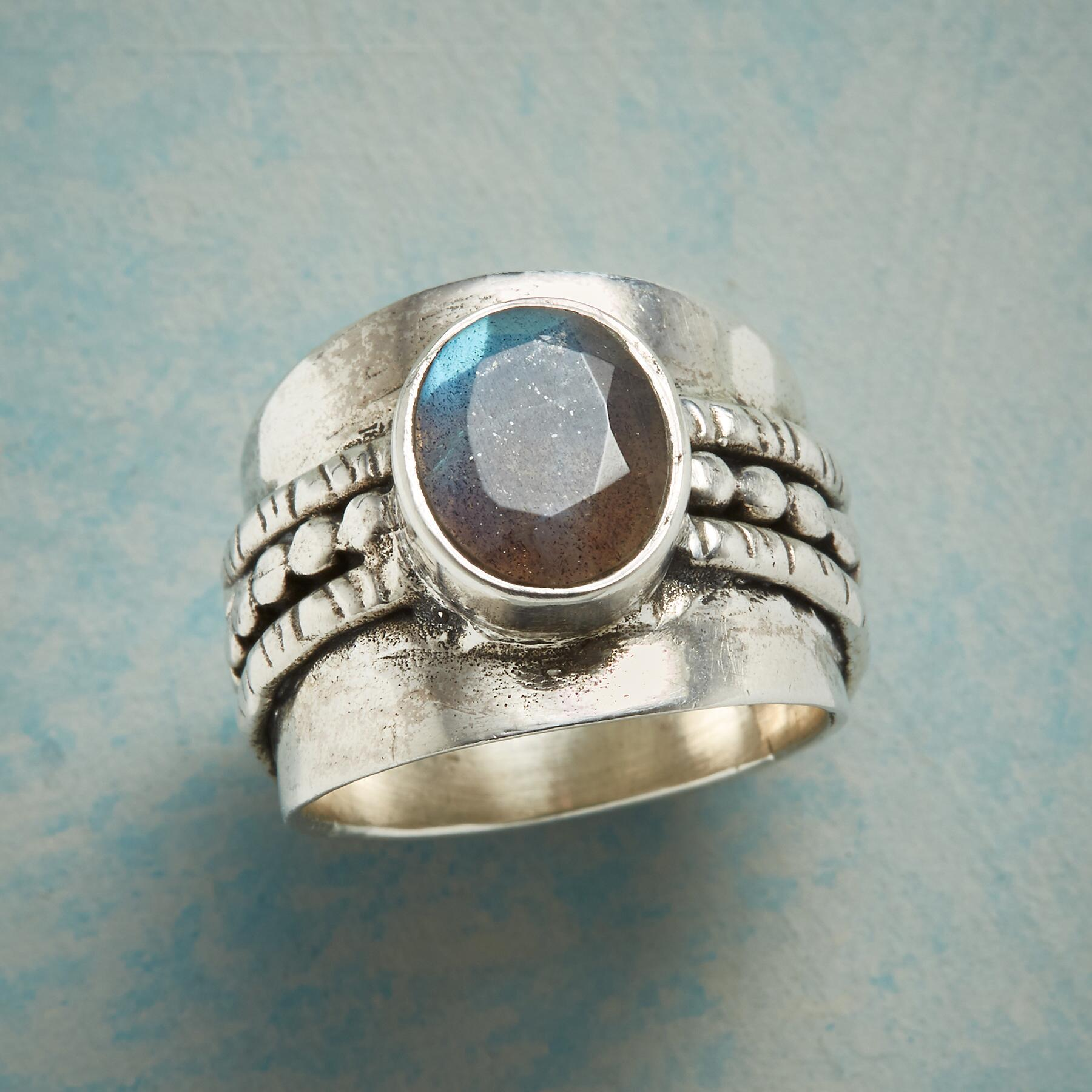 LABRADORITE SUMMIT RING: View 1