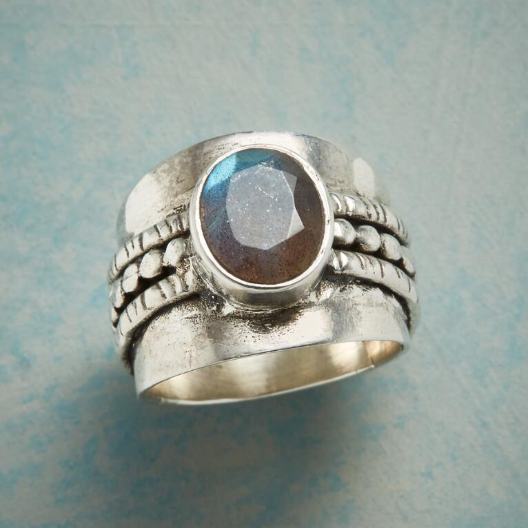 LABRADORITE SUMMIT RING