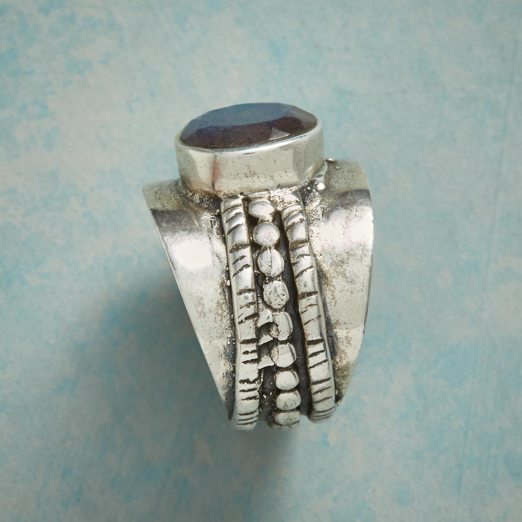 LABRADORITE SUMMIT RING: View 2