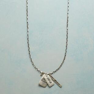 CLARITY CHARM NECKLACE