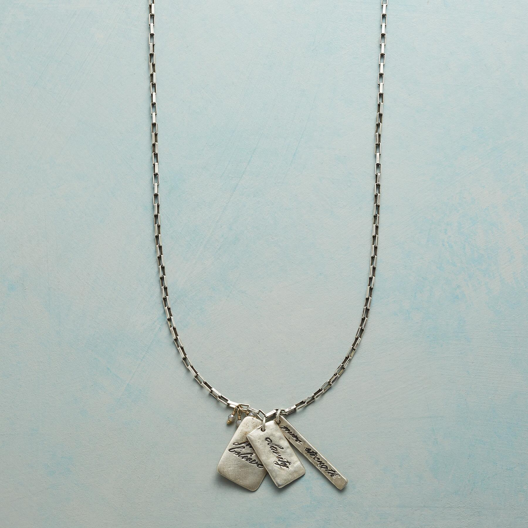CLARITY CHARM NECKLACE: View 1